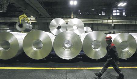 Алюминиевая катанка – востребованный электротехнической промышленностью материал. Фото Reuters